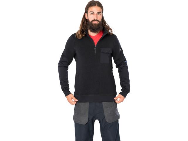 super.natural Compound Quarter Jacket Men, jet black